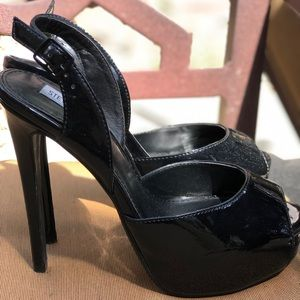 Steve Madden High Black Heels